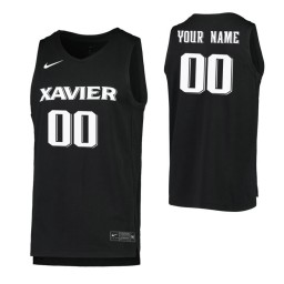 Xavier Musketeers Replica Custom Jersey Black