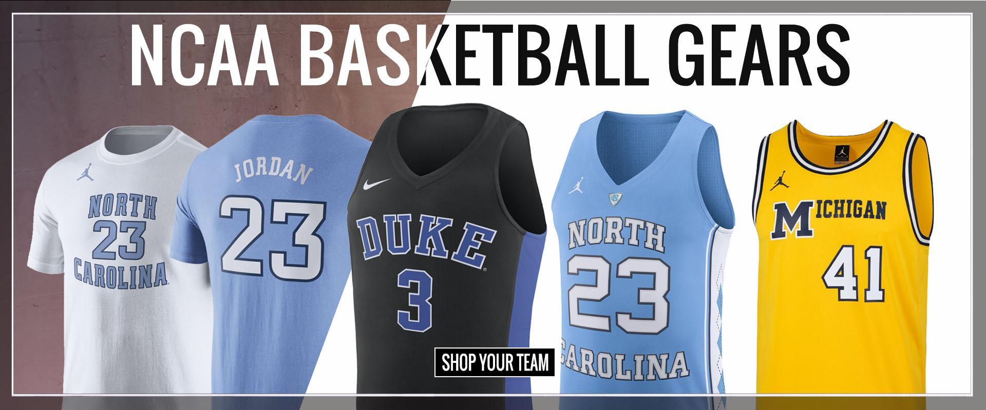 University basketball player shirts shop